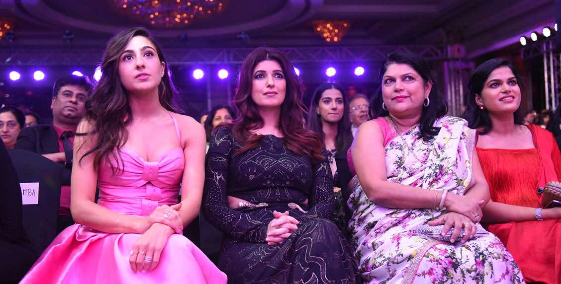 Sara Ali Khan, Twinkle Khanna and Falguni Nayar look flawless