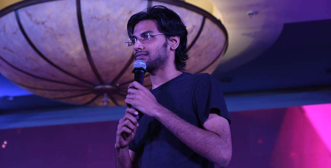 Biswa enthrals the audience with his humour