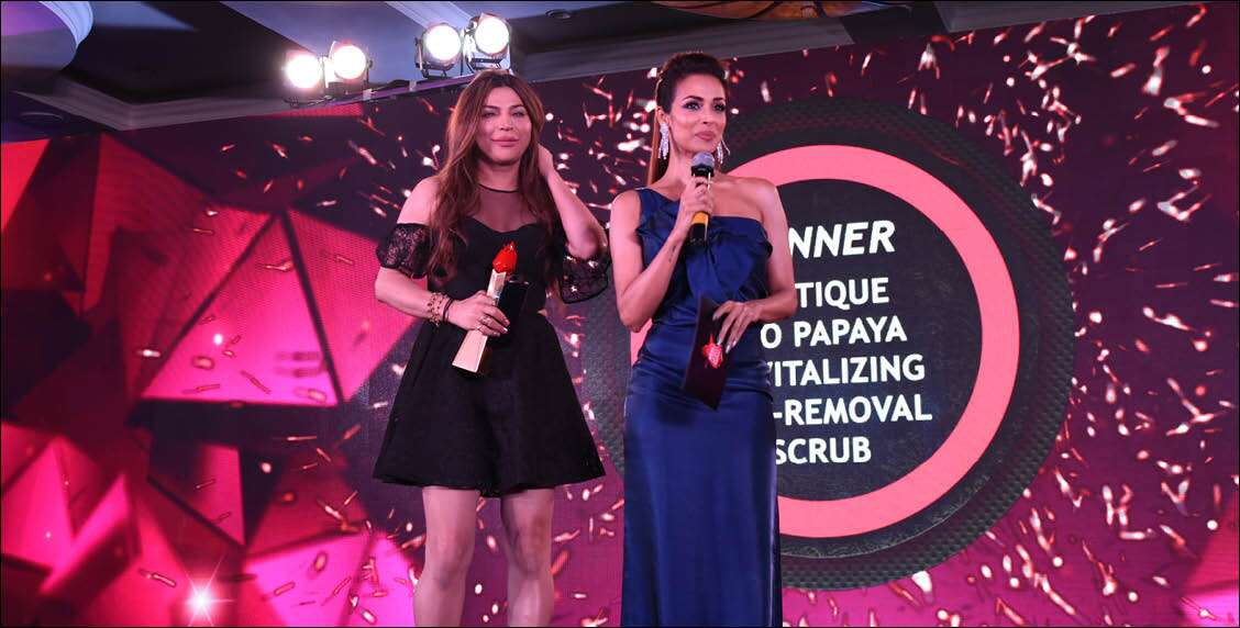 Presenters Malaika Arora and Ojas Rajani in their element