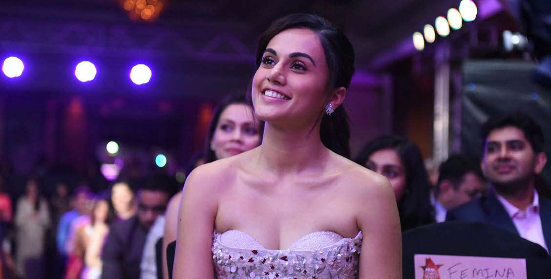 TAPSEE PANNU IS All SMILES