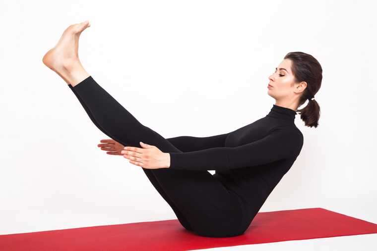 Naukasana (Boat Pose) yoga for health