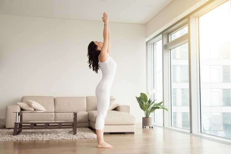 Tadasana (Mountain Pose) yoga for health