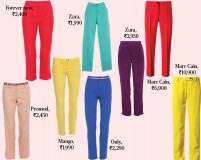 Give your pants a colourful makeover