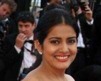 Saree-gown at the Cannes red carpet