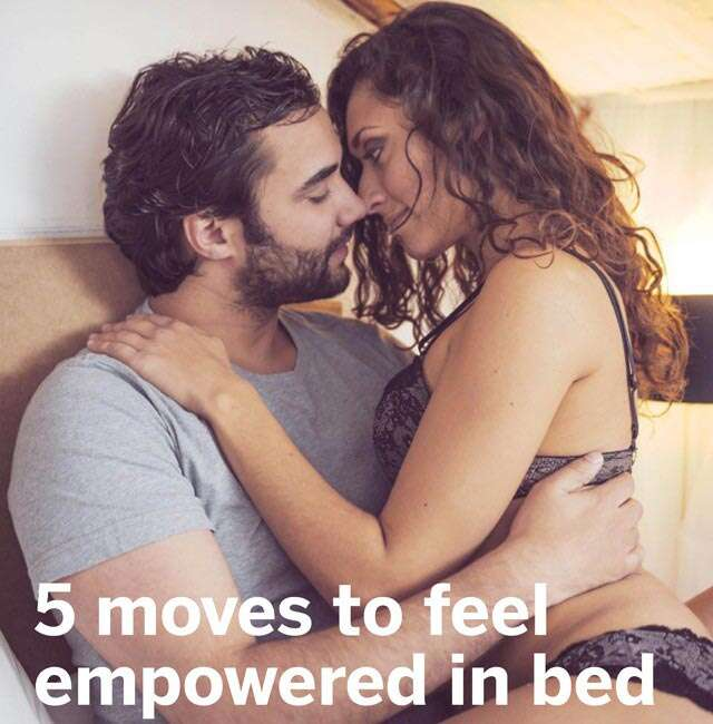 Feel empowered in bed