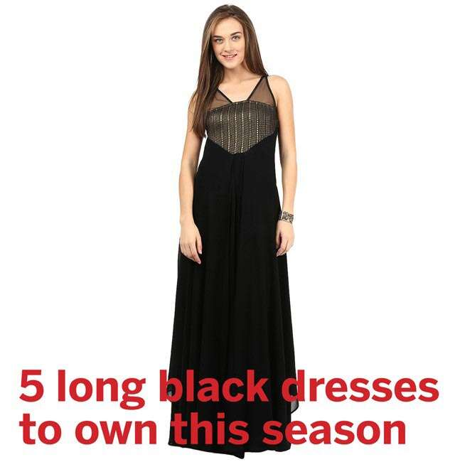 Long black dresses