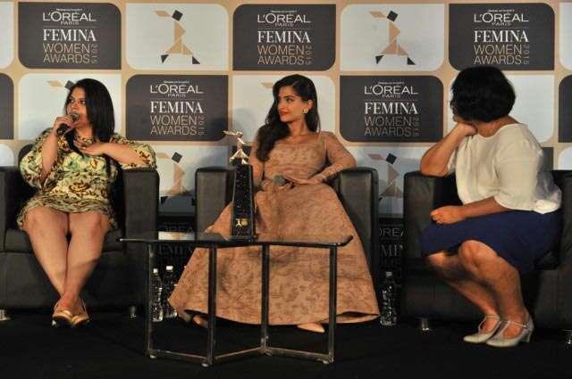 Femina Women Awards 2015 Sonam Kapoor