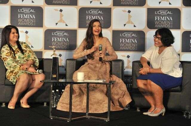Sonam Kapoor Femina women awards