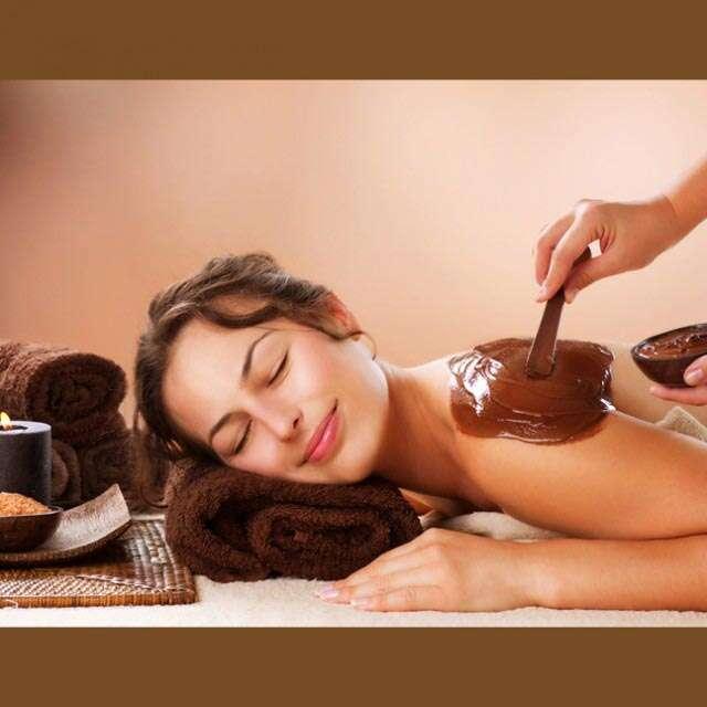 Chocolate skin beauty