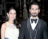 Pix: Shahid-Mira's reception