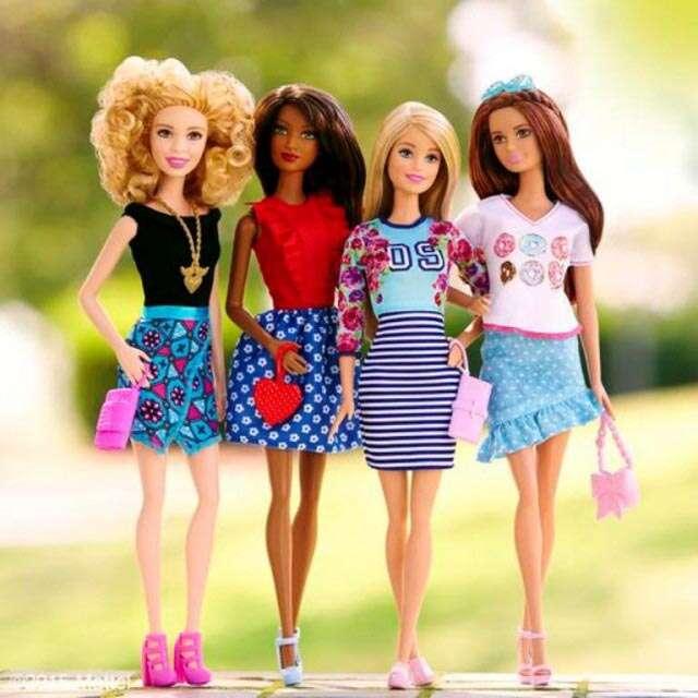 new Barbie makeover