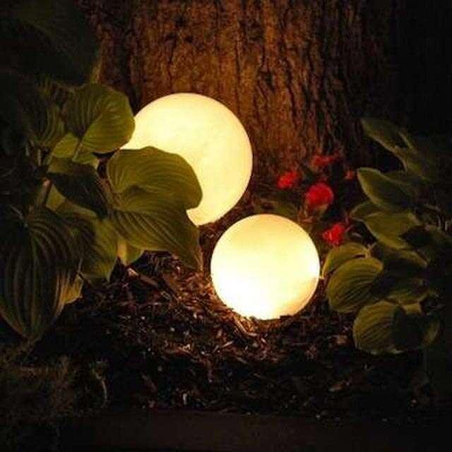 DIY Diwali lantern - Hula Hoop and Orbs