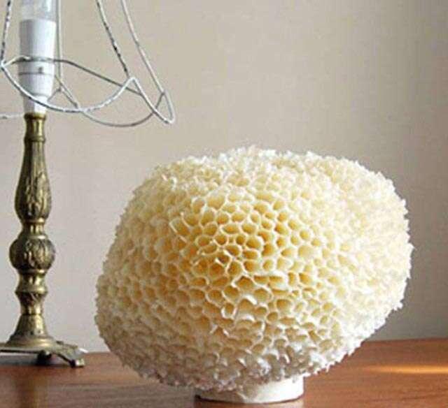 DIY Diwali lantern - hornet's nest lamps