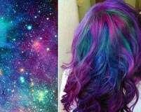 Trend alert: Galaxy hued hair