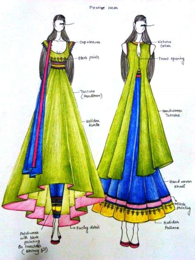 Femina Finalists Ethnic Designer 2015 Femina In
