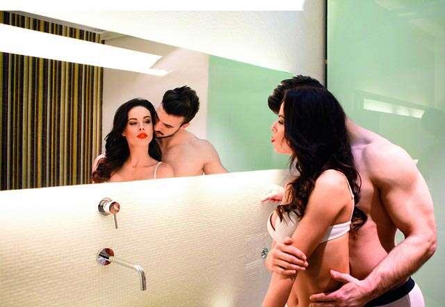 Banyoda sikişen genç türk çift  Sürpriz Porno Hd Türk sex