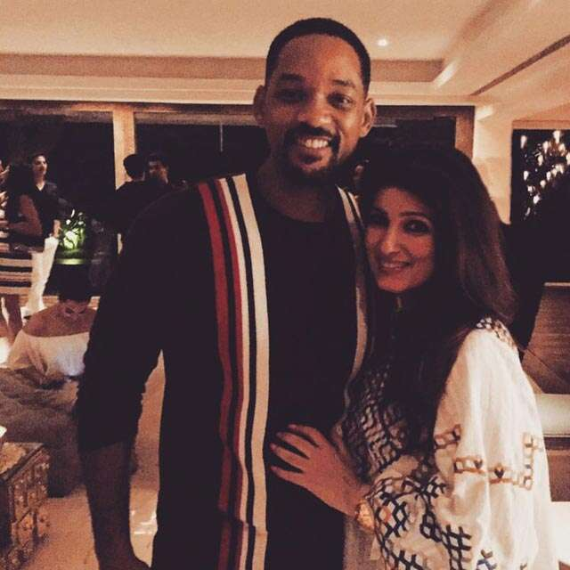 Will Smith parties with Akshay and Twinkle in Mumbai