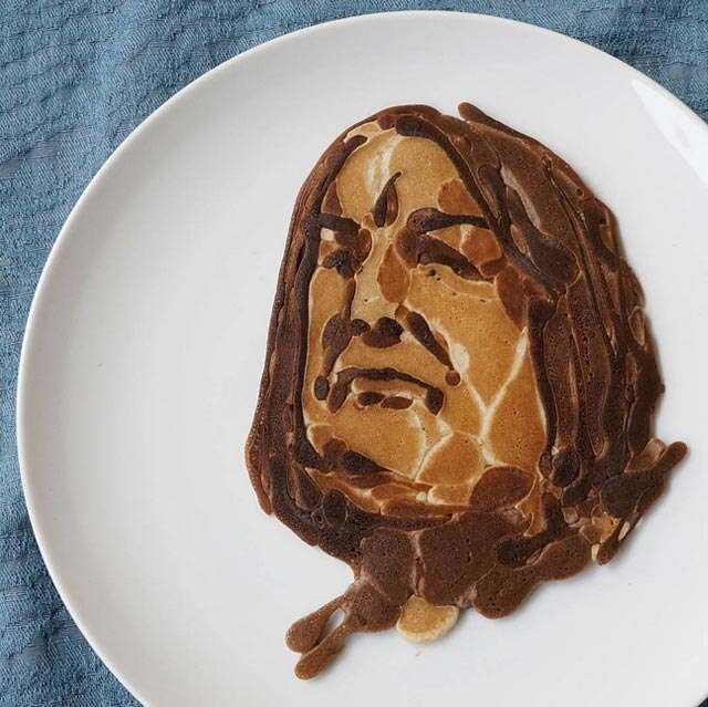 Pancake art to make your weekend