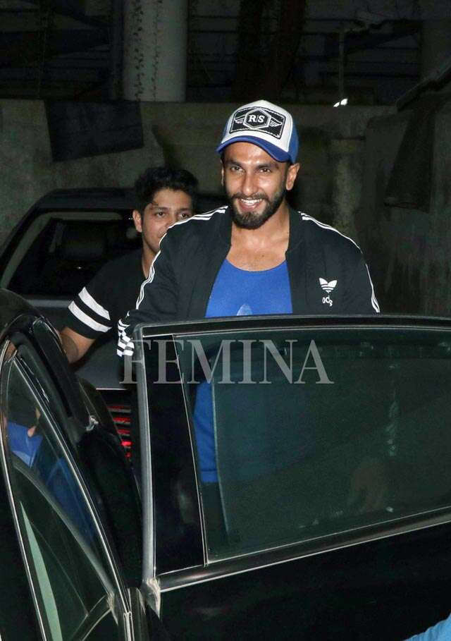 Ranveer and Sanjay kiss and make up for Padmavati