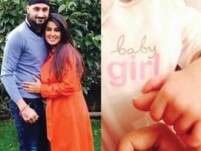 Geeta, Harbhajan share adorable picture of baby daughter!