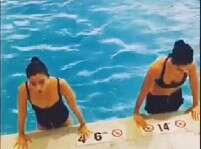 Watch: Alia Bhatt, Katrina Kaif's workout in pool