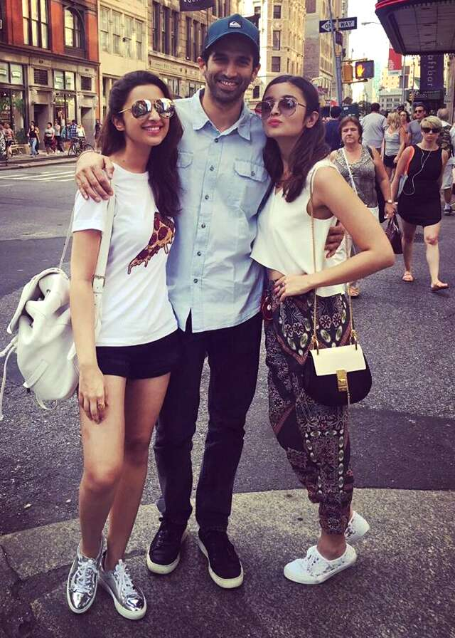 Parineeti, Alia and Aditya go shopping in NYC