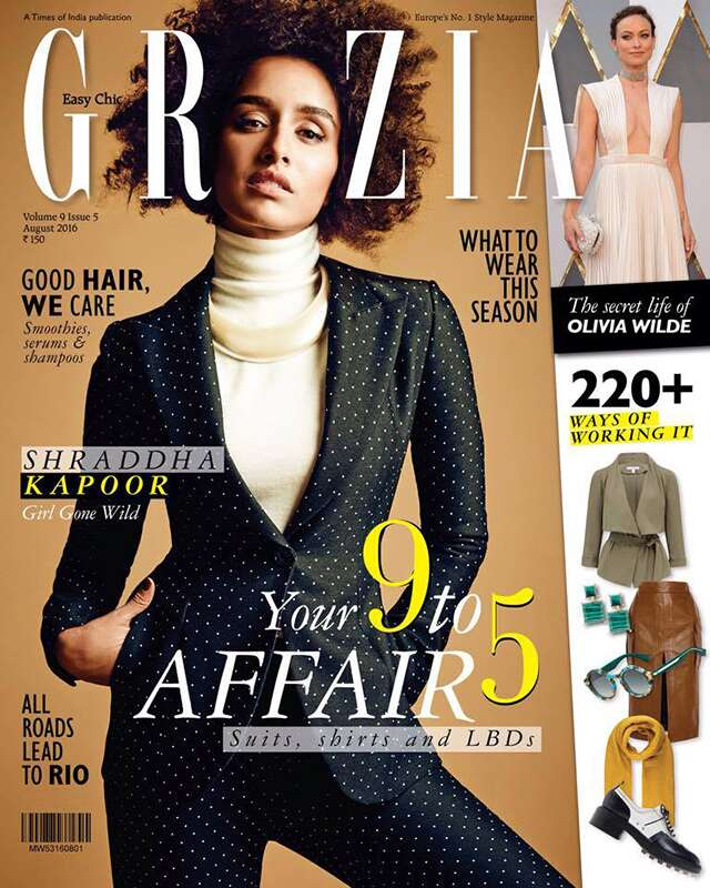 ShraddhaKapoor is rocking it on the Grazia cover