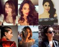 Bipasha and Priyanka rock music festival beauty looks