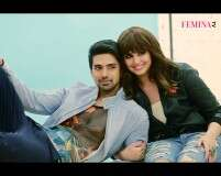 It's Huma vs Saqib at Femina's cover shoot