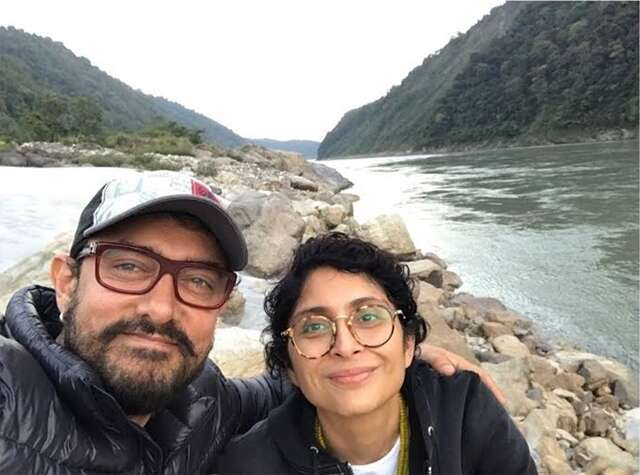 Aamir Khan on vacation