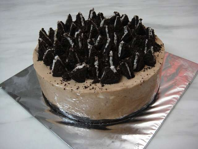 Oreo nutella cheese cake
