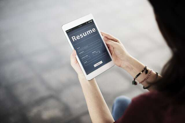 why a digital resume is a must today