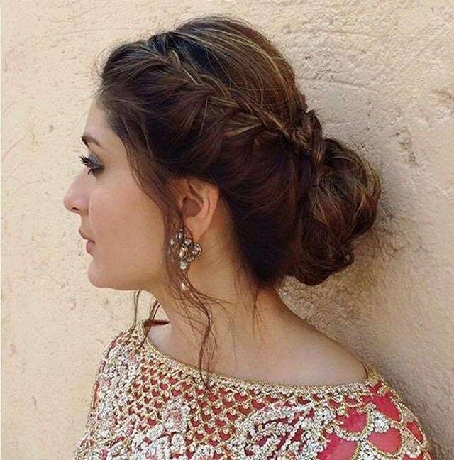Simple Juda Hairstyle For Wedding: Get Kareena's Side Braided Bun In Five Easy Steps