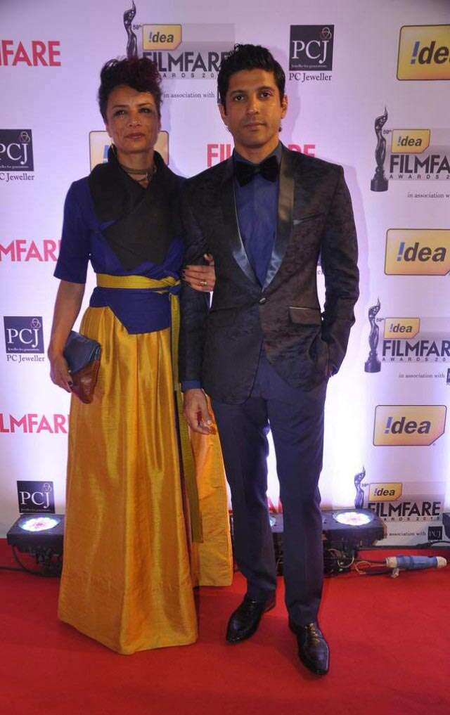 Farhan Akhtar and Audhuna