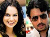 All's well between Irrfan and Kangana Ranaut