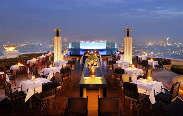 Restaurants with breathtaking views of the world