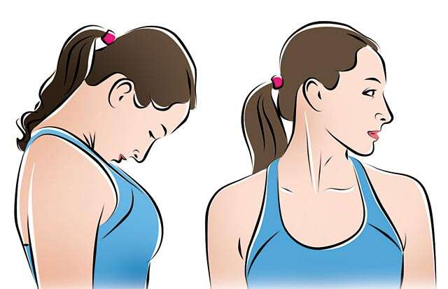 Neck exercises to beat stress and age