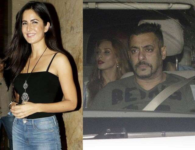 Sallu's girlfriend Iulia gives Katrina the cold shoulder