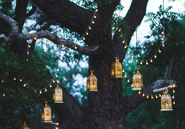 Light it right at your garden party