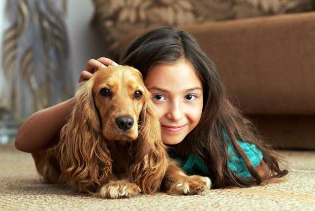 Why children should grow up with pets