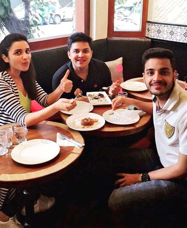 Parineeti Chopra introduces her brothers to the world