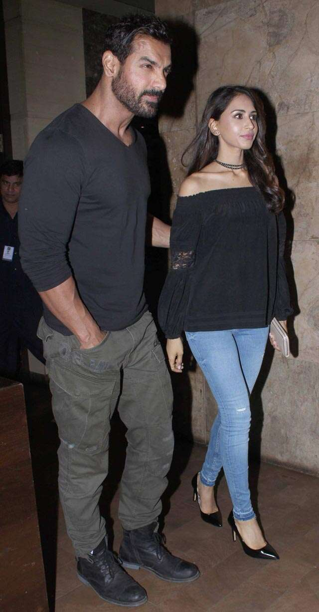 John and Priya stun at a Dishoom screening