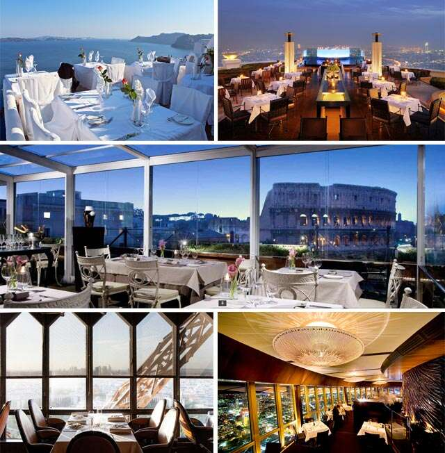 World's 5 most amazing restaurants with stunning views