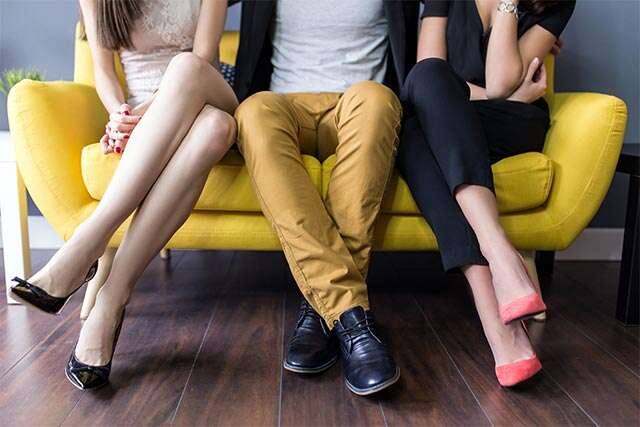 Should you worry that he wants a threesome?