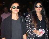 Alia and Shaheen Bhatt's airport looks matched flawlessly