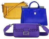 Wear the rainbow: 8 bright bags for the rainy season