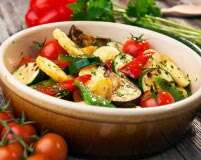 Delicious and healthy: recipes with roasted vegetables