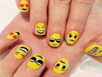 Emoji nail art is the next big thing