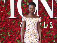 Lupita Nyong'o wore the most summery red carpet gown at Tonys