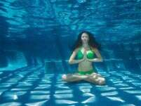 Underwater yoga: New fitness matra